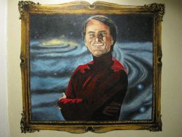 Carl Sagan by Artem-Anima
