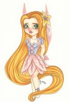 Chibi Disney Fairy Collection: Rapunzel by chelleface90