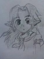 The Legend of Zelda OoT Manga- Malon by Vanheath