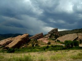 Red Rocks by dementedviking