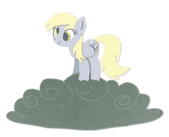 Super Paper Derpy Hooves by HiMyNameIsNickel