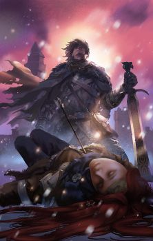 You know nothing, Jon Snow by zippo514