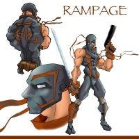 Rampage by BronxArtist