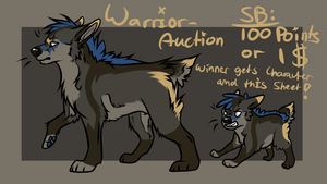 Warrior-Adopt -closed- by ElectricSilence