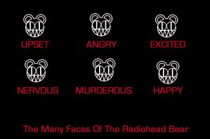 Radiohead Bears by invisible---invasion