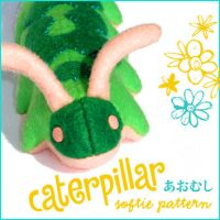 Caterpillar Softie Pattern by quexthemyuu