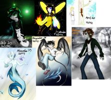my art 2012 and my art today... by Eisschweif