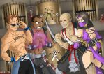 Commission: Get ready to RUMBLE by Blunt-Katana