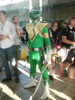 Green Ranger and the Sword of Darkness by DragonDuelistGirl