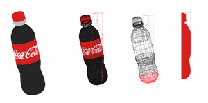 3D Coca-Cola by lougrimes