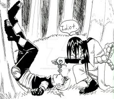Look Before you Leap Kabuto... by Yakushi--Kabuto