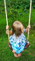 On the swing by Shinigamigirl666