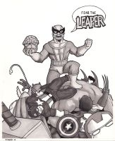 Batroc the Leaper by TheRigger