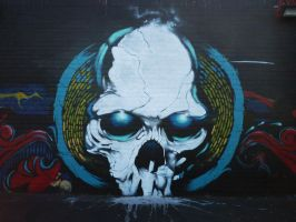 Graffiti Skull by kiki71