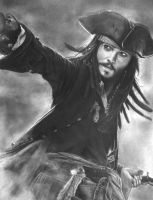 Jack Sparrow by nobodysghost