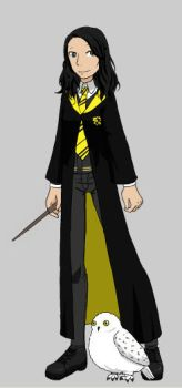 Me as a Hogwarts student by Superkaito
