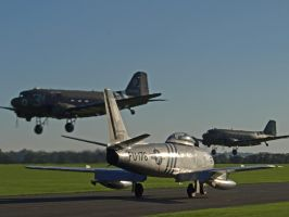 Sabre with Daks by davepphotographer