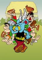 Day 31 - Asterix by MHG5