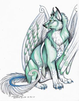 Trade with Soul-of-the-wolf by NatsumeWolf