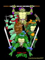 Teenage Mutant Ninja Turtles by ricardomendes