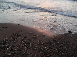 Sea and Pebbles by alazada9855