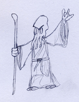 Mind Flayer sketch by BlackMage1234