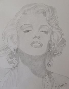 Marilyn by Hiberniart