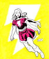 Mary Marvel by MichaelLinkJr