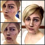 The Walking Dead - makeup test by RatherPeculiar