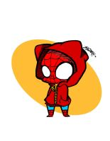 Chibi spiderman by Elizabetharte