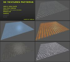 Free 3D textures pack 11 by Nobiax