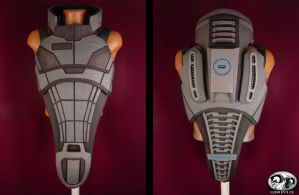 Mass Effect 2 N7 Armor Day 4 by Evil-FX