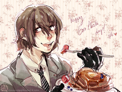 HAPPY GORO AKECHI DAY! by alpacasovereign