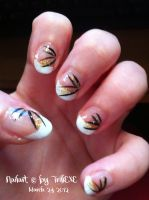 Nailart - March 24th 2012 :tut: by TrillEXE