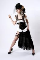 Nicole Steampunk 1a by jagged-eye