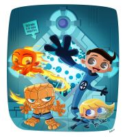 Fantastic Four by Andres-Iles