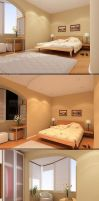Bedroom modern Day and Night by rOSTyk