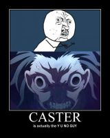 The secret identity of Caster by SunriseInTheWest