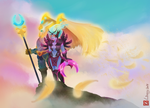 Skywrath Mage And Vengeful Spirit by Linexyy