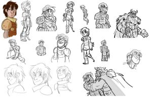 Storyboard Official Older HTTYD 2 Hiccup by ICNyght