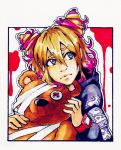 Mikuppy and a bear xD [Itai Onna] by Pepper-Party