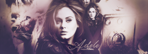 Adele Facebook Cover by onedirectionelif
