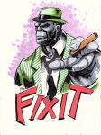 Mr Fixit by artildawn