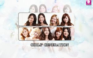SNSD wallpaper by SNSDartwork