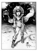 Spacegrrl by rattlesnapper