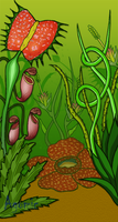 Carnivorous Jungle by agomic