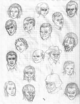 Faces by steel-worker
