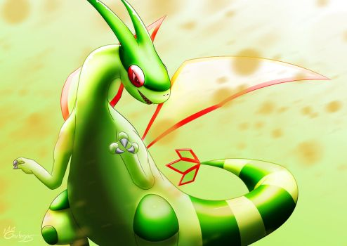 Flygon by Garlegas