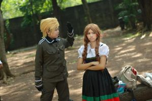 APH: Germany x Bella!Italy by TheTwistedWonderland
