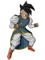 Uub... The Supreme Kai by SuperBooney